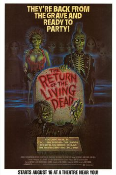 [ RETURN OF THE LIVING DEAD POSTER ]