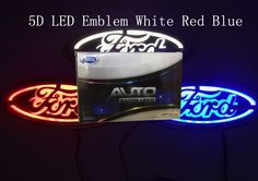 Find More Rear Lights Information about 5D car led emblem car led badge car led symbols logo for Ford size 14.5x5.6cm,High Quality badge shirt,China logo rivets Suppliers, Cheap badges cheap from Freephoto (HK) Ltd. on Aliexpress.com