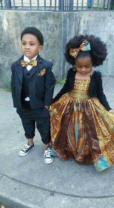 58 Super Ideas Black Children Fashion Beautiful Babies - My favorite children's fashion list African Inspired Fashion, African Fashion, Kids Fashion, Babies Fashion, Ankara Fashion, Fashion Clothes, Beautiful Black Babies, Beautiful Children, Beautiful Couple