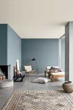 Interior Design Living Room, Living Room Designs, Interior Colour Design, Home Interior Colors, Living Rooms, Interior Design Color Schemes, Interior Walls, Trending Paint Colors, Scandinavian Interior Design