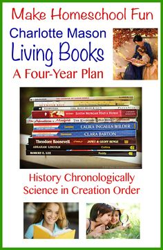 Four-Year Plan Charlotte Mason Living Book Plan