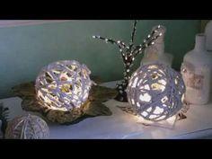 Beton giessen - DIY - Gitterkugeln aus Beton - YouTube