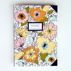 Campbell Journal by 9th Letter Press | 9th LETTER PRESS Pretty hand drawn florals on a journal.