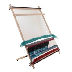 Louet Frame loom for easy weaving beginner Wooden Toy Chest, Tapestry Loom, Macrame Supplies, Pick Up Sticks, Dollhouse Toys, Shades Of Beige, Woven Wall Hanging, Loom Weaving, Toy Boxes