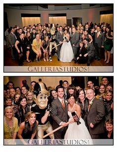I would love to have Purdue Pete at my wedding! I am pinning this because it has Robin Ballard in it! At her bro's wedding! :)