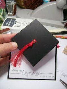 Tutorials: Graduation Hat Card