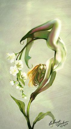 Yo tengo la fragancia, el perfume y el olor,,, por que yo soy la presencia y la escencia. Soy la flor! ---flor salvaje