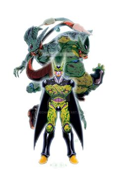 CELL the 2nd in a short series I plan on doing. Same format. Different Villains. will post the individual forms in the next few days -tools- PSCS3/Intuos4 RELATED PIECES: