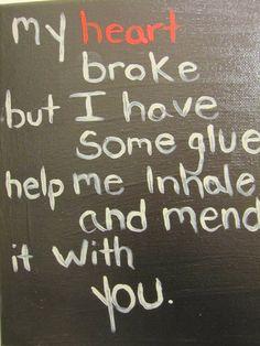 Nirvana Dumb lyrics on 8x10 canvas by Brokensapphire on Etsy, $15.00