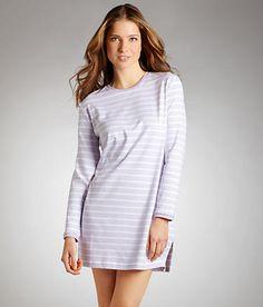 eb7c1260a8 p.jamas  Back Home Striped Knit Nightshirt  322507 bare necessities   pajamas A