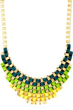 Monique Leshman Ribbon Necklace. Could I replicate this, or would it be better to just buy it...