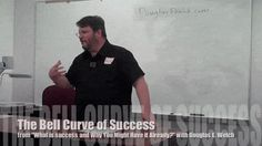 "Video: The Bell Curve of Success from ""What is success…and why you might have it already?"""