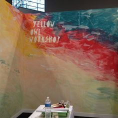 Booth painting done #nss #nssbooth1756