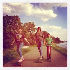 family longboard tour