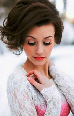 Short Wedding Hairstyles 2014-2015-1