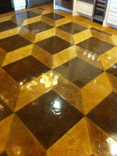 Stained Concrete Floors Baton Rouge Floor Matttroy