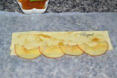 Mi Diversión en la cocina: Rosas de Hojaldre con Manzana y Cabello de Angel