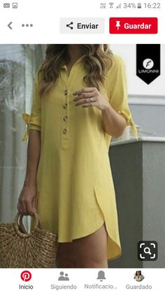 Ideias Fashion, Cover Up, Tunic Tops, Summer Dresses, Sewing, Clothes, Women, Modeling, Long Blouse