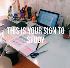 Studying everyday of the week. That includes Saturday and Sunday.