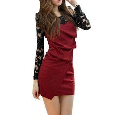 Allegra K Ladies Puff Long Sleeves Scoop Neck Pleated Front Lace Shoulder Dress Allegra K,http://www.amazon.com/dp/B00902GPIK/ref=cm_sw_r_pi_dp_p7jmsb1BSKEQ2G0W