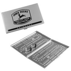 John Deere Travel Cribbage Game | WeGotGreen.com