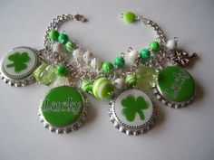 Bottle Cap Bracelet...socreative605.. Etsy