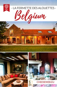 If you're looking for countryside holiday cottages in Belgium, you don't have to go far beyond Brussels to escape to nature. Monika reviews La Fermette des Alouettes, an 18-century farmhouse inBeauvechain. Travel Tips For Europe, Travel Advice, Travel Guides, Cool Places To Visit, Places To Travel, Travel Destinations, Travel Pics, Europe Holidays, Slow Travel