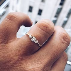Tiara Diamond Ring