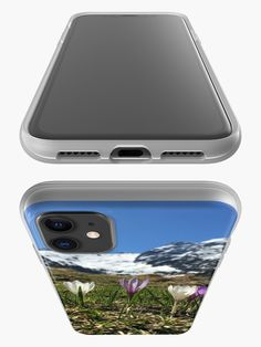 """""""Mountain Top View"""" iPhone Case Cover by kmaasikas New Zealand Landscape, Sunset Landscape, Sea Waves, Sunset Sky, Iphone Case Covers, Iphone 11, Samsung, Sky Mountain, Ocean"""