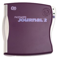 Password Journal-- I'm sure I wrote very important things in mine