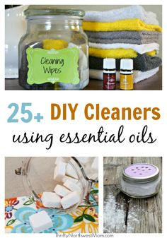 25+ DIY Cleaning Rec