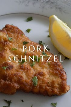 pork chop recipes Learn how to make authentic pork schnitzel with our easy to recipe. Easy to make and extremely delicious. Schnitzel Recipes, Pork Schnitzel, Pork Cutlet Recipes, German Schnitzel, Meat Recipes, Cooking Recipes, Easy Dinner Recipes Pork, Rabbit Recipes, Pork Chop Recipes