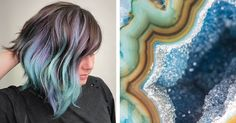 'Geode Hair' Is About to Become the New Big Hair Color Trend