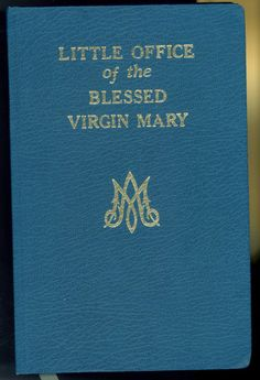 8c5bd90eb5e4 Little Office Of The Blessed Virgin Mary - 1988 Catholic Book Publishing  Prayer
