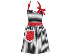 Dorothy Apron Any hostess would look chic in this glam party apron.(carolynskitchenonline.com, $39.95)