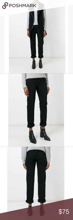 Helmut Lang Skinny Jeans Black cotton skinny jeans from Helmut Lang. - Zip fly with button closure - 5 pocket construction - Distressed details - Relaxed fit - Made in USA Jeans