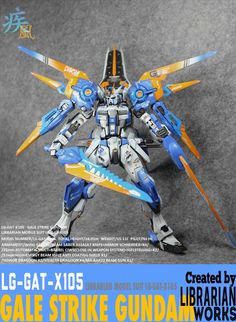 MG 1/100 Gale Strike Gundam - Customized Build