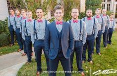 Ben and his groomsmen and best man