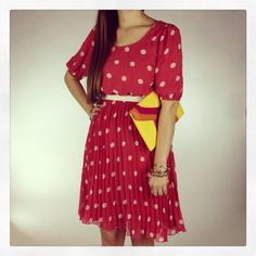 New Arrivals :: Spotty Dotty Dress, $62 (also available in navy) xoxo