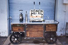 mobile coffee cart - Google Search