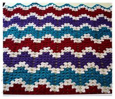 Ravelry: Project Gallery for granny ripple pattern by The Hobbyhopper