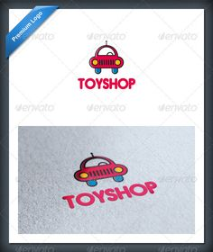 Car Toy Logo Template — Vector EPS #toy #logo • Available here → https://graphicriver.net/item/car-toy-logo-template/1946767?ref=pxcr