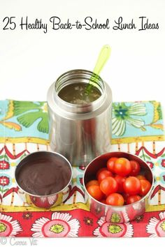Back-to-School Lunch Ideas and Quick Chocolate Pudding (Dairy-Free, Paleo, Grain-Free) - Deliciously Organic
