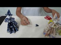 """Making 3D paper doll (English Rose) using kusudama folding technique from the book titled """"Creating Lovely Paper-Flower Dolls""""  For more of 3D paper dolls tutorials, please follow the link below:-    http://www.youtube.com/watch?v=jePGWhkcmVk=PL9358747CC8A84F0E=plpp_play_all"""
