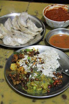 Newari food in Kathmandu, Nepal - http://migrationology.com/2013/09/newari-food-samay-baji/