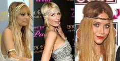 As headbands estão fazendo a cabeça das mais antenadas e prometem ser a sensação do verão 2013.    Elas podem ser usadas por quem tem cabelos longos, médios e até curtinhos, super democrática esta tendencia!    As headbands surgiram nos anos 70 com os hippies, e hoje são usadas por mulheres de diversos estilos.