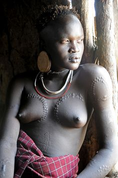 Mursi woman - Omo Valley - Ethiopia by JCH Travel on Flickr.
