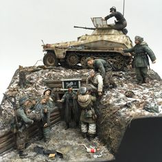 The Edge of darkness - Narwa 1944 Diorama Roger Hurkmans