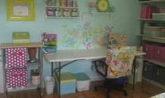 I also wrote her a long reply-8/31/2012 - watch for reply (I hope!) Rosemary's Daughter: Craft Room/Guest Room Reveal