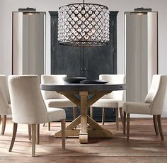 17Th Cmonastery Round Table  Restoration Hardware 60 Inch Round New Restoration Hardware Dining Room Sets Decorating Inspiration
